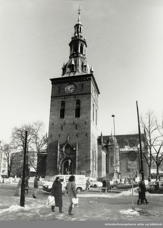 Domkirken. 6. mars 1987