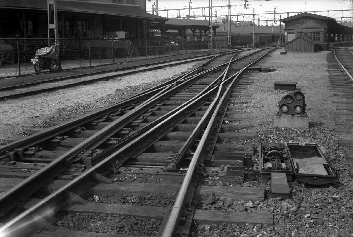 Signaler på centralstationen