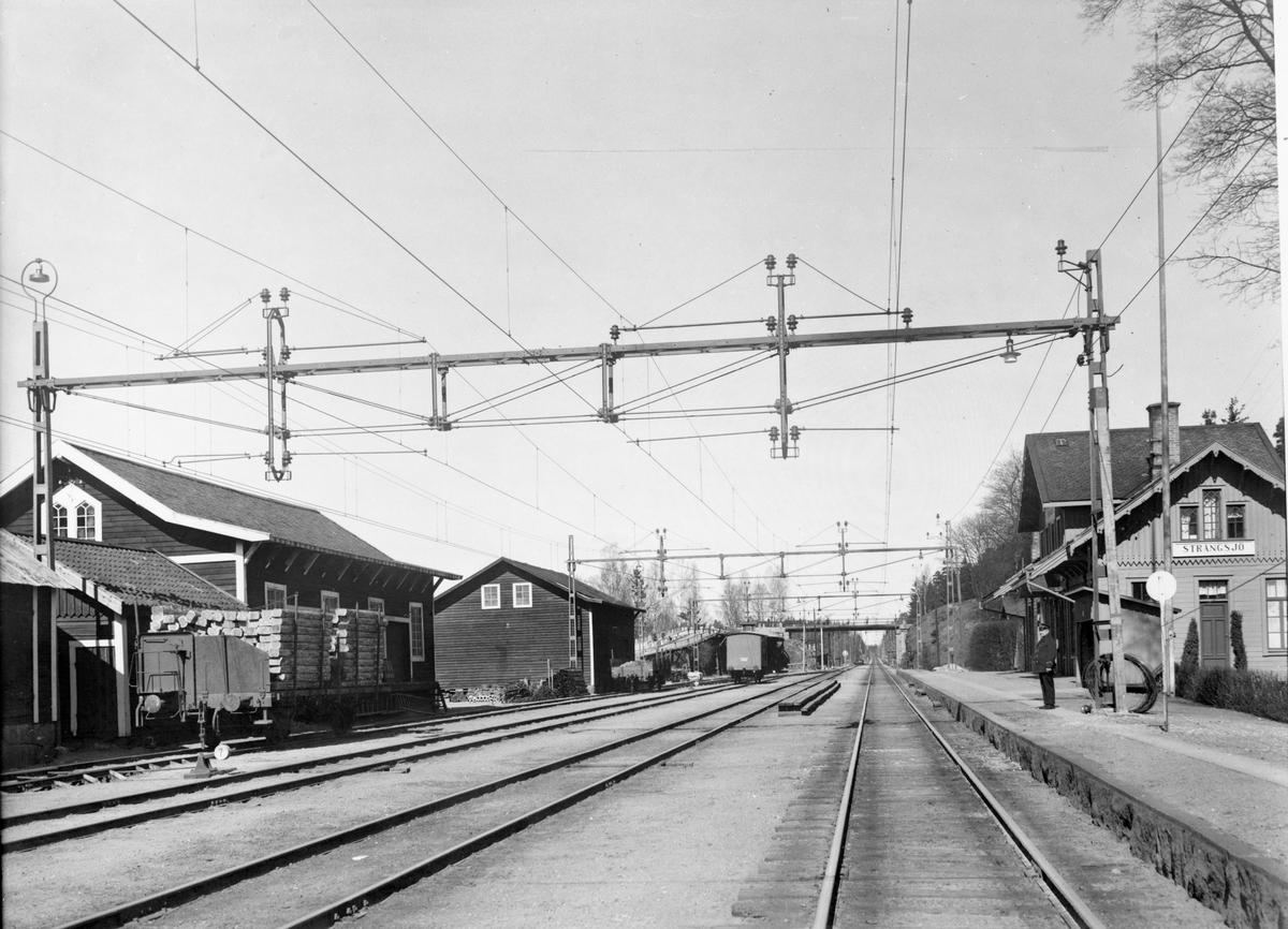Strångsjö station.