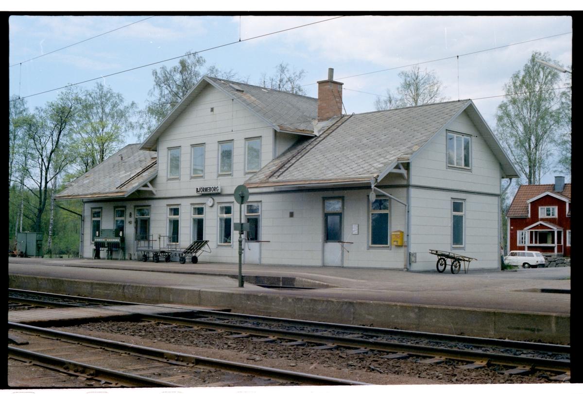 Björneborg station.