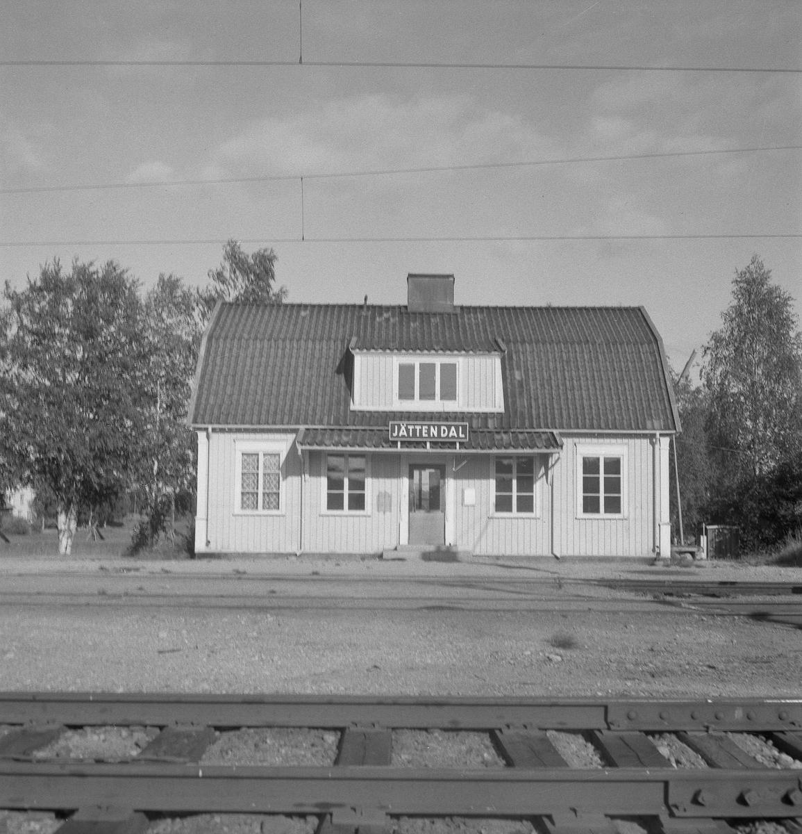 Jättendal station