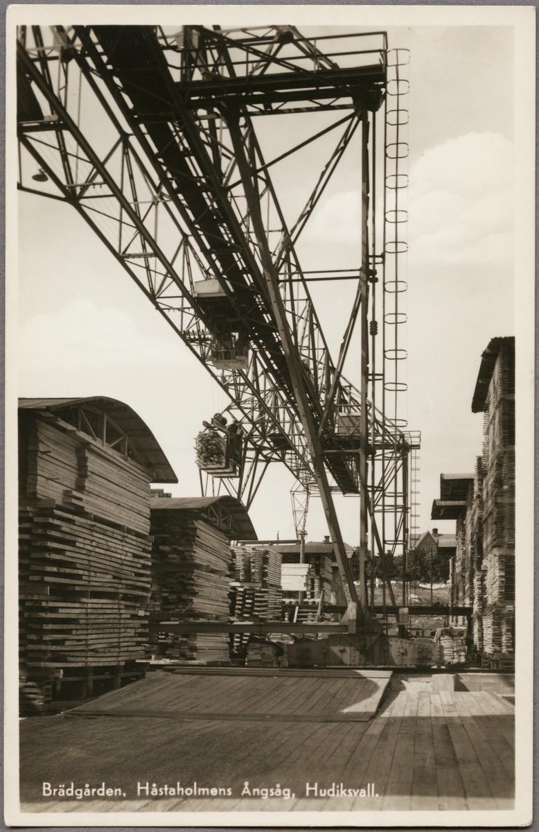 Håstaholmens sågverk, Hudiksvall.