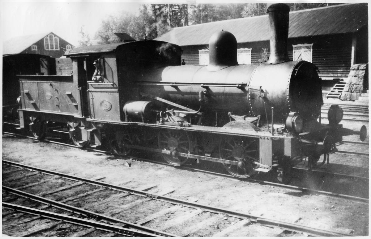 MaSJ lok 2, Marma-Sandarnes järnväg.