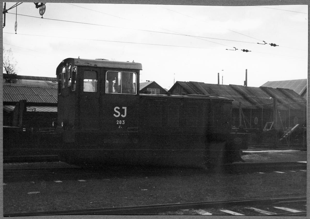 Statens Järnvägar, SJ Z3 283.