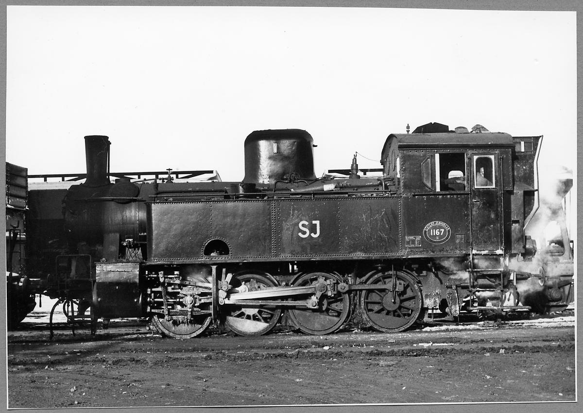 Statens Järnvägar, SJ N 1167.
