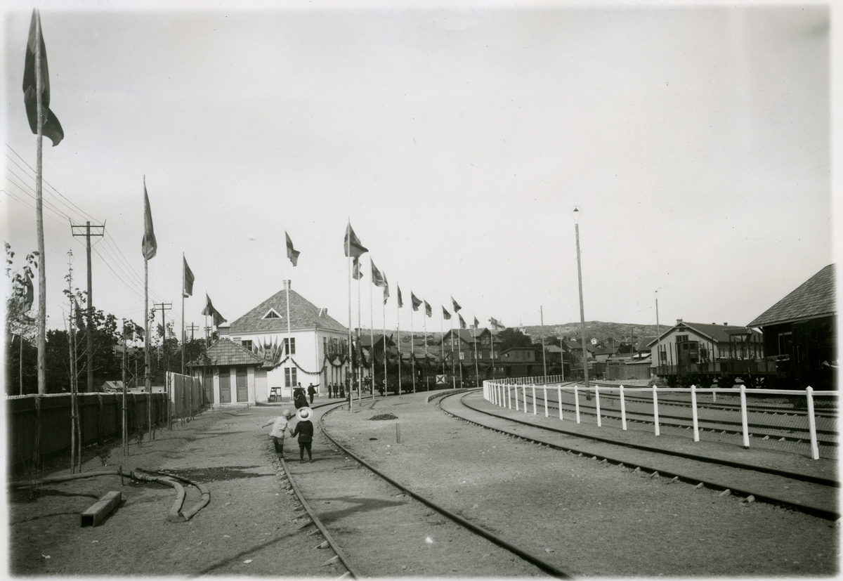 Invigning av Lysekils Järnväg