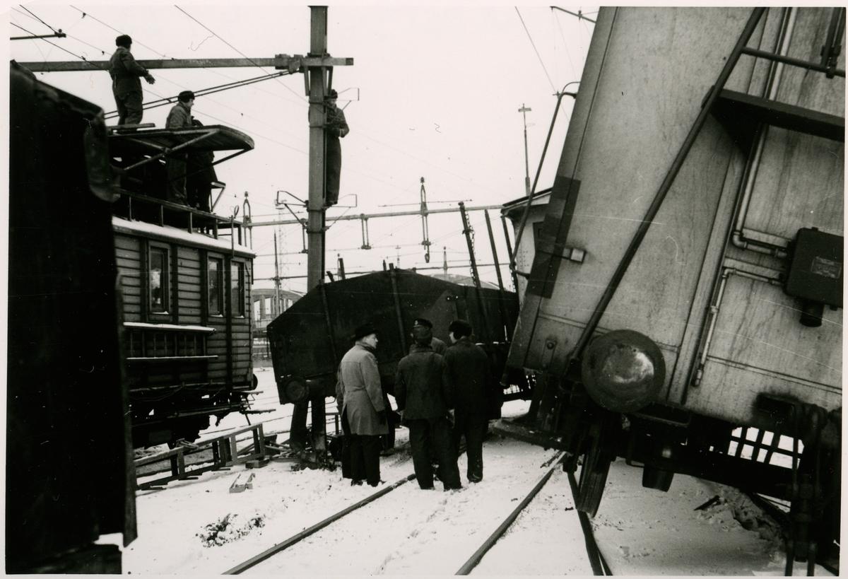 Tågurspårning i Malmö.