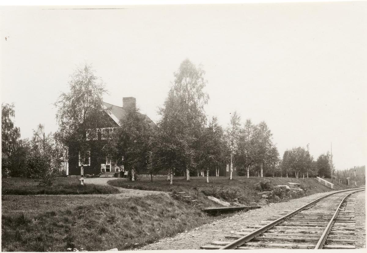 Vitvattnet, bostadshus för anställda vid Statens Järnvägar SJ.
