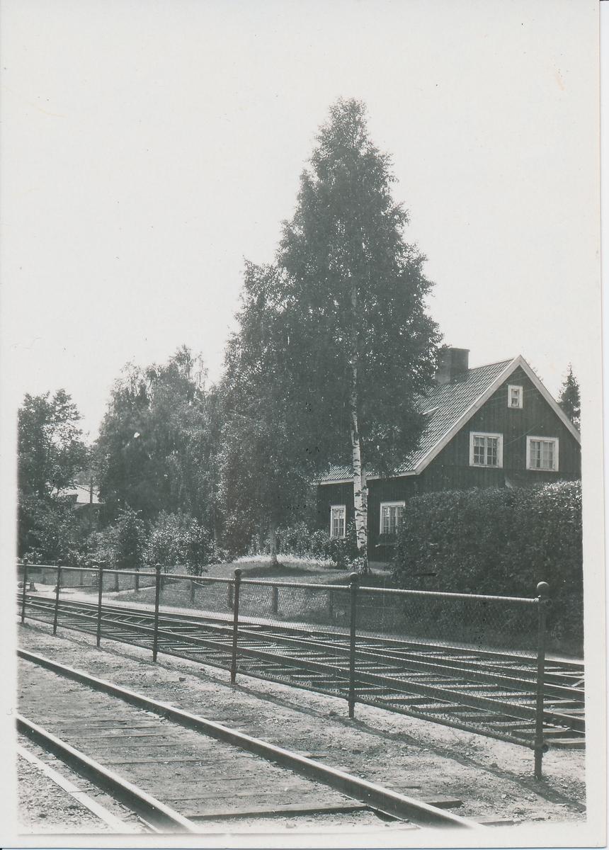 Banmästaren bostadshus i Kilafors.