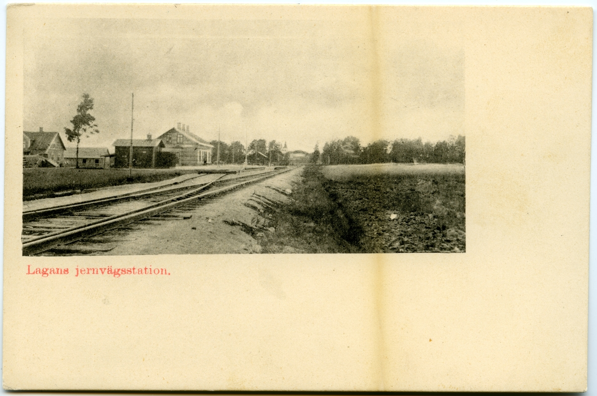 Lagans station