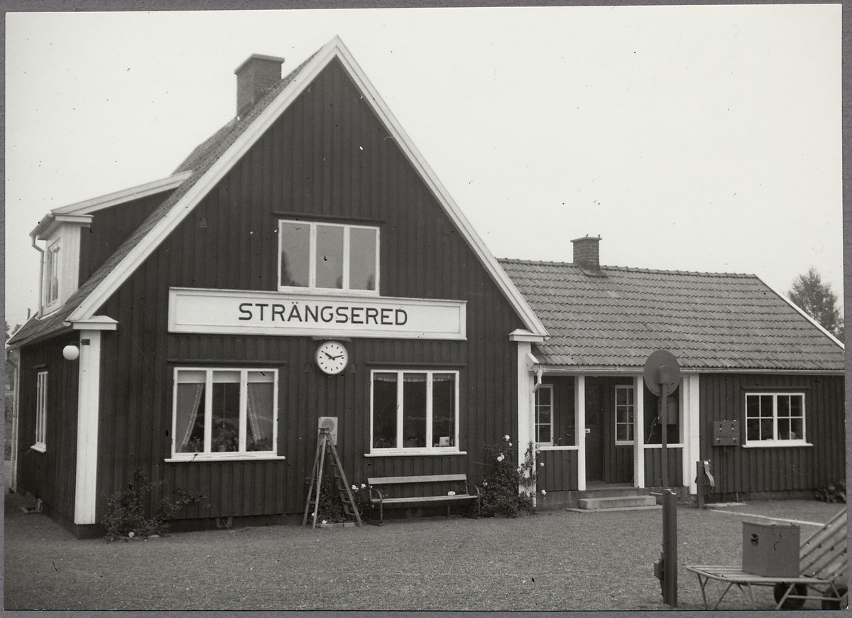 Strängsered station.
