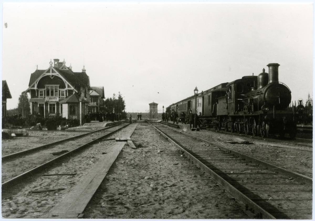 Borås - Alvesta Järnväg, BAJ A 6 vid Limmared station.