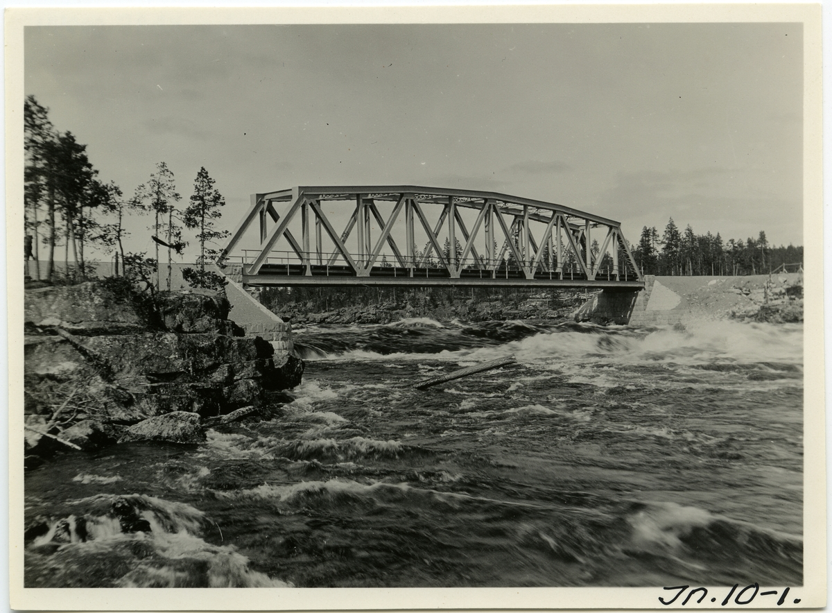 Inlandsbanan Bro över Lilla Luleåälv