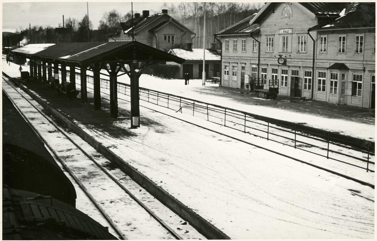 Ånge stationshus.