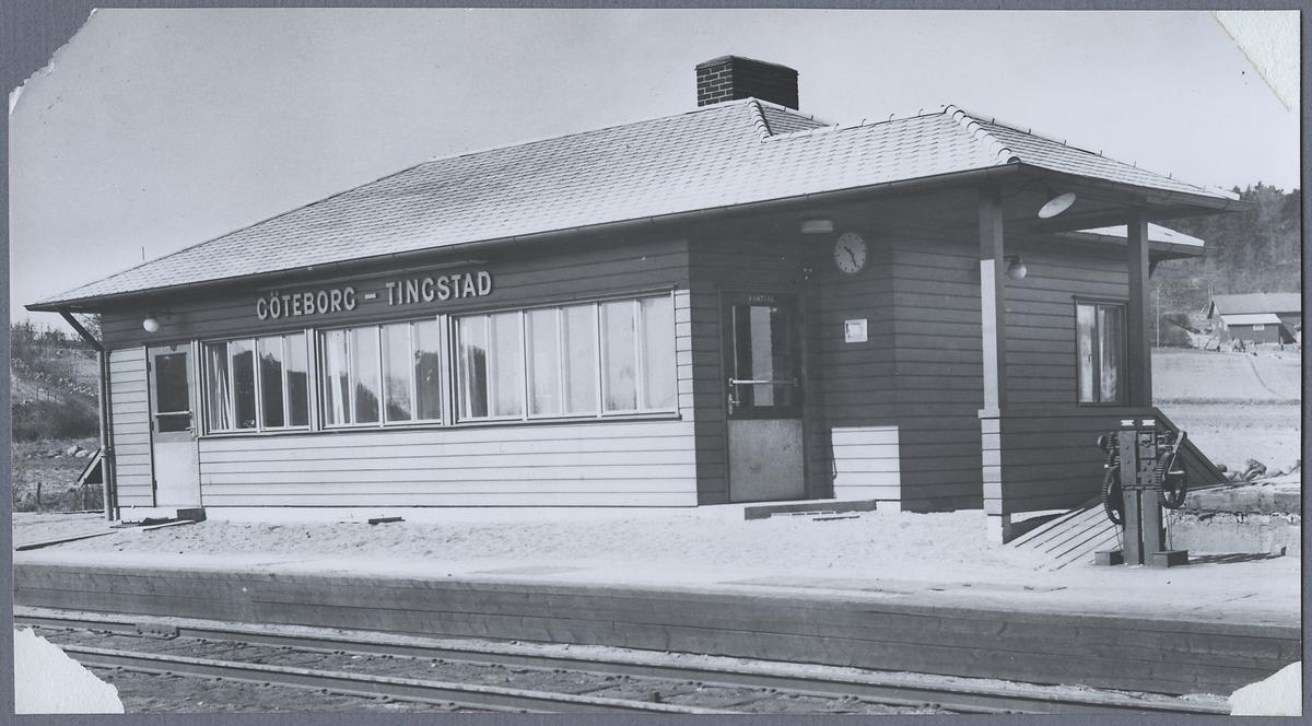 Göteborg-Tingstad station.