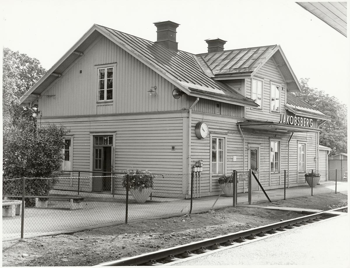 Jakobsbergs stationshus.