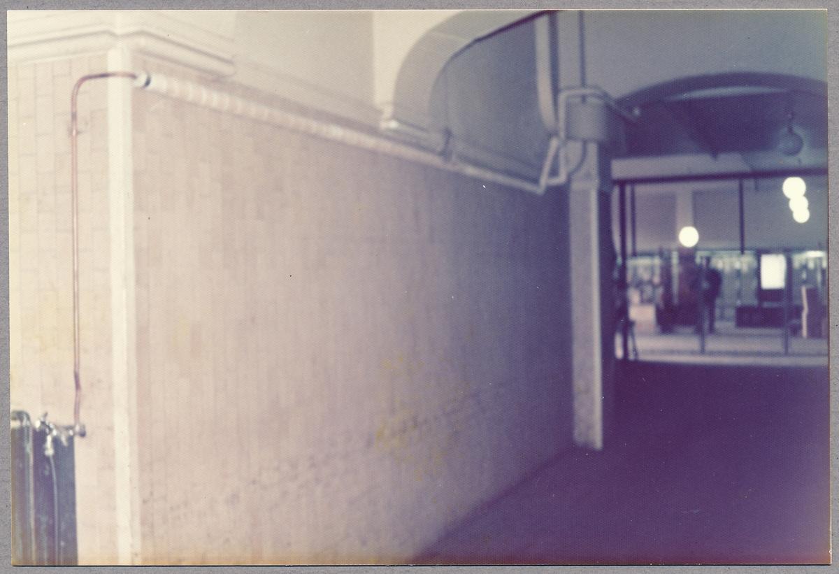 Någonstans inne på Malmö Central.