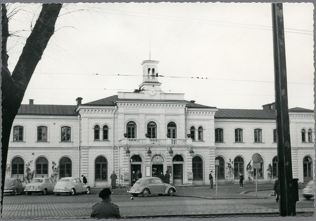 Norrköping Centralstation från gatusidan.