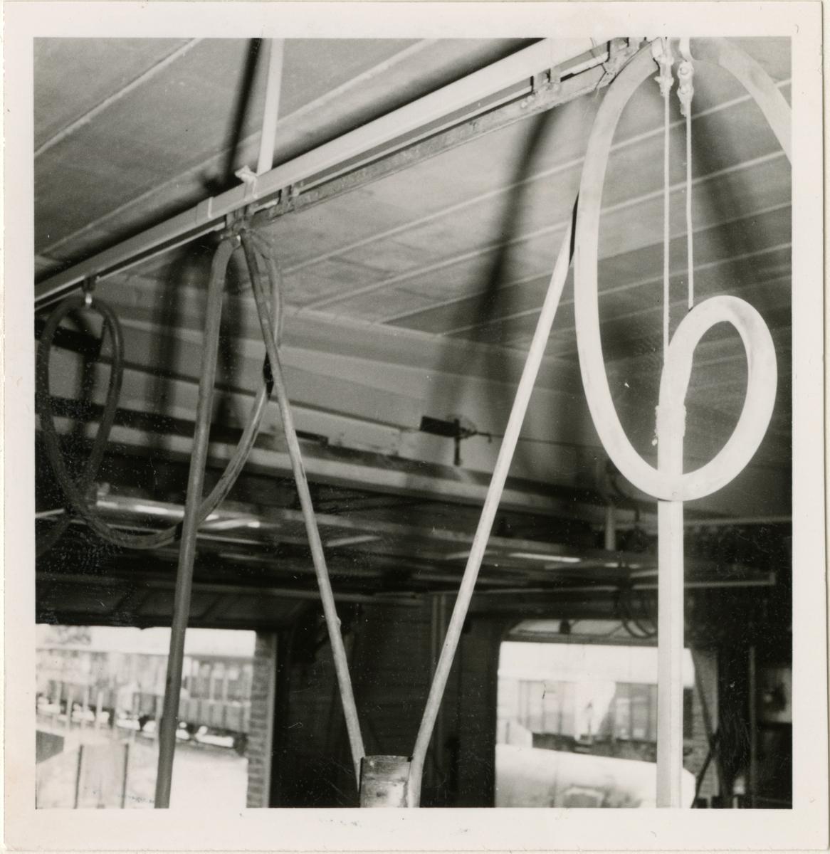 Kabelupphägning för lyftbockar, Göteborg vagnstation.