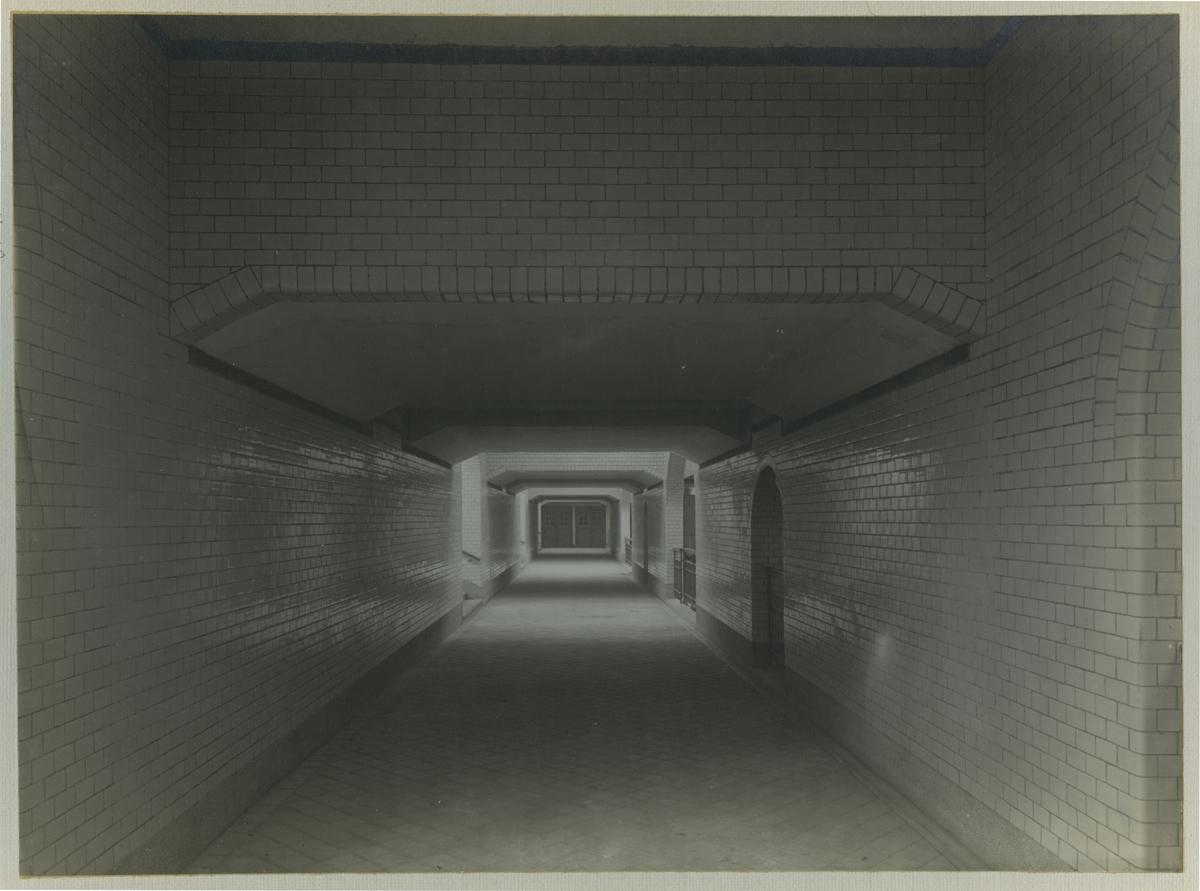 Interiör av persontunneln