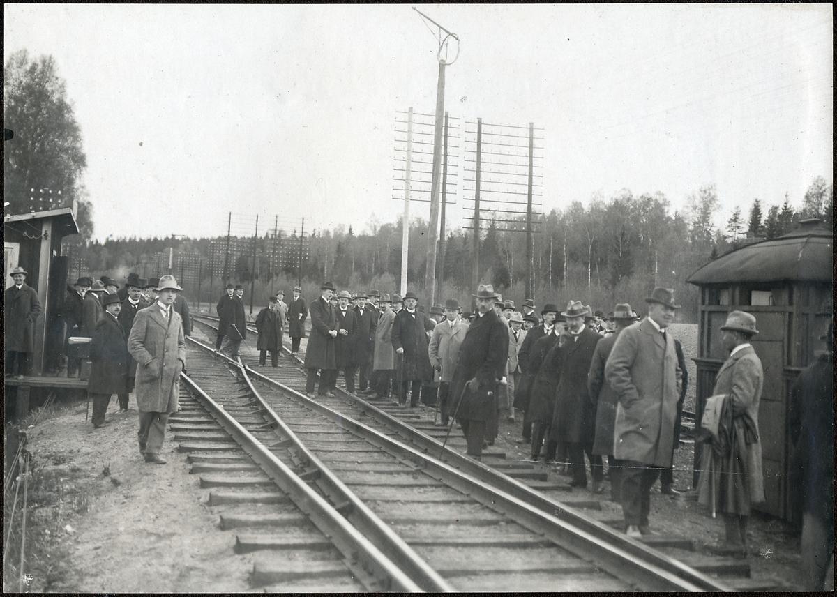 Invigning Av bandelen Rönninge - Ström.