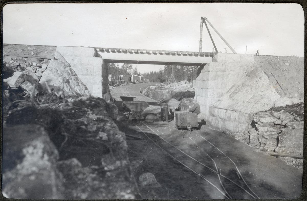 Vägport för Hällnäsvägen vid Lycksele.