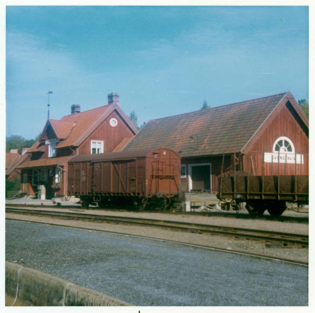 Svenstavik stationshus.