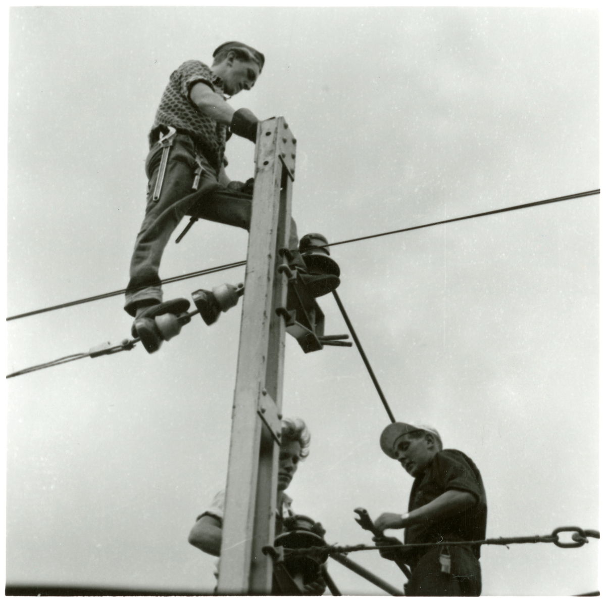 Elektrifierings och linjearbete.