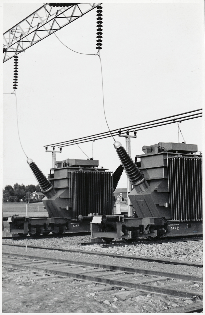 Transformatorvagnar, SJ 4 och 5.