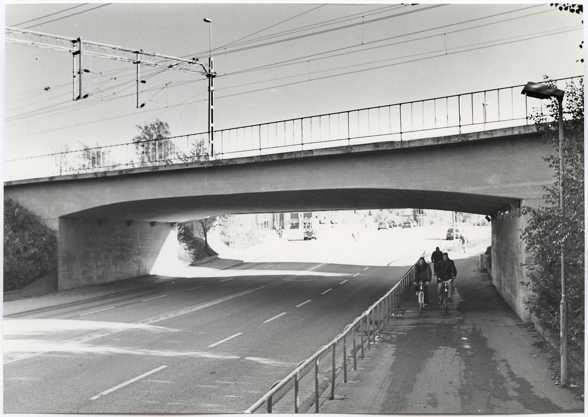 Järnvägsbro över Pilgatan i Västerås.