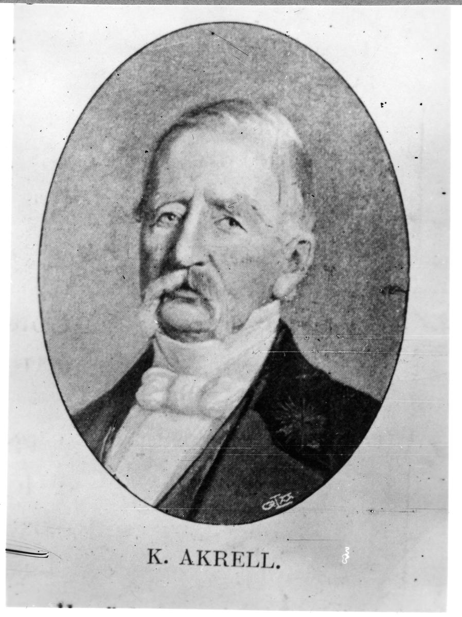 Generalmajor K. Akrell.