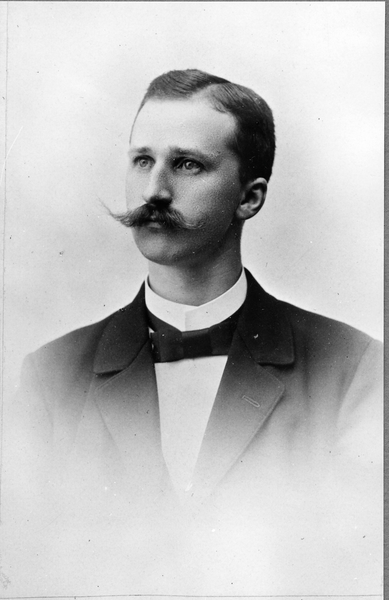 Stationsföreståndare Johan Gottfrid Nordling.