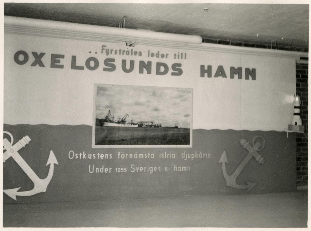 Väggmålning, Stuvaregårdens invigning.