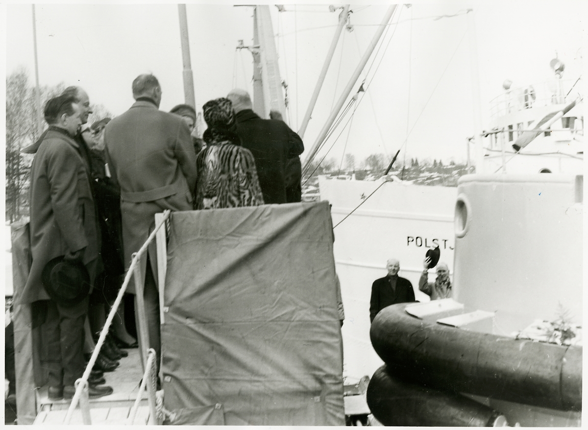 "Invigningen av bogserbåten ""Simson""."