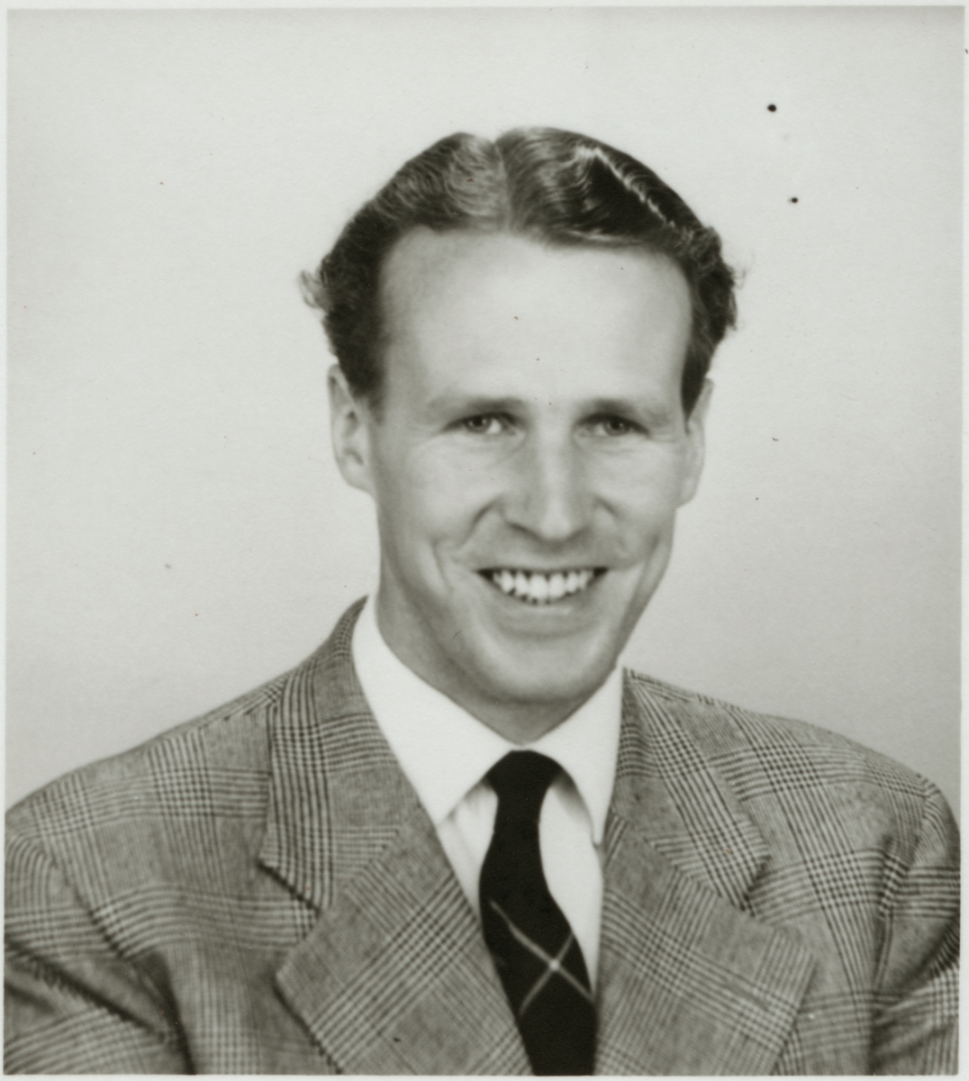 Rune Lindeborg, personalchef, Trafikaktiebolaget Grängesberg – Oxelösunds Järnvägar, TGOJ.
