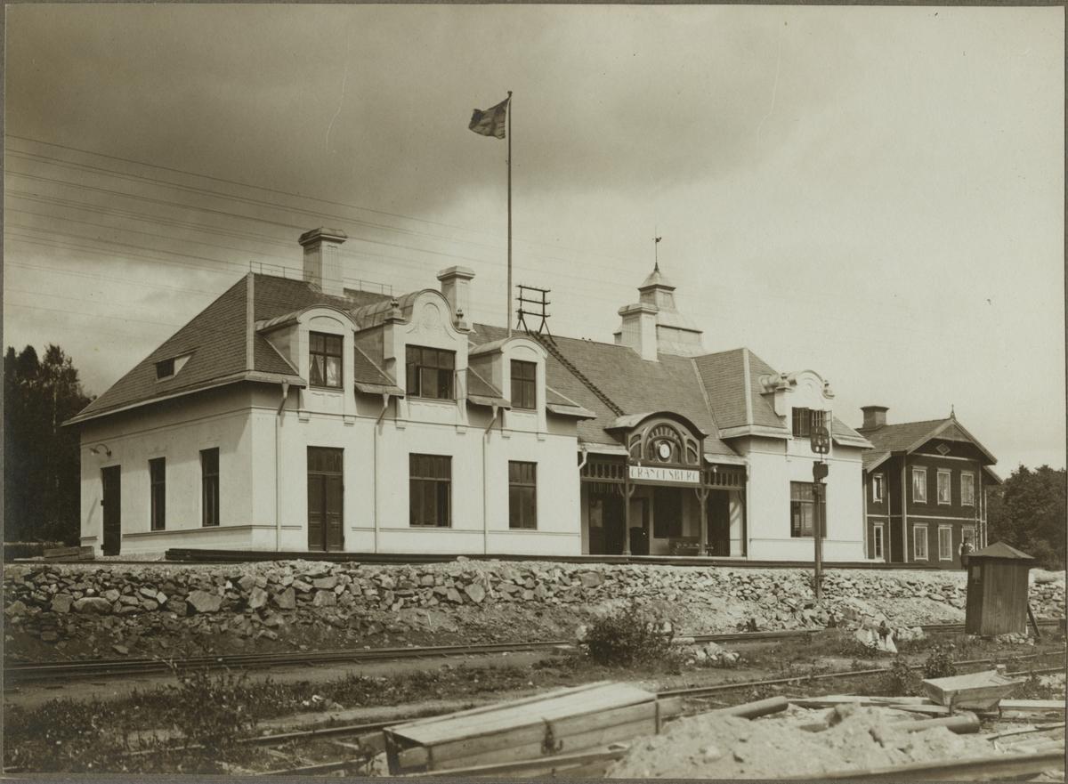 Grängesberg C stationshus före 1905.