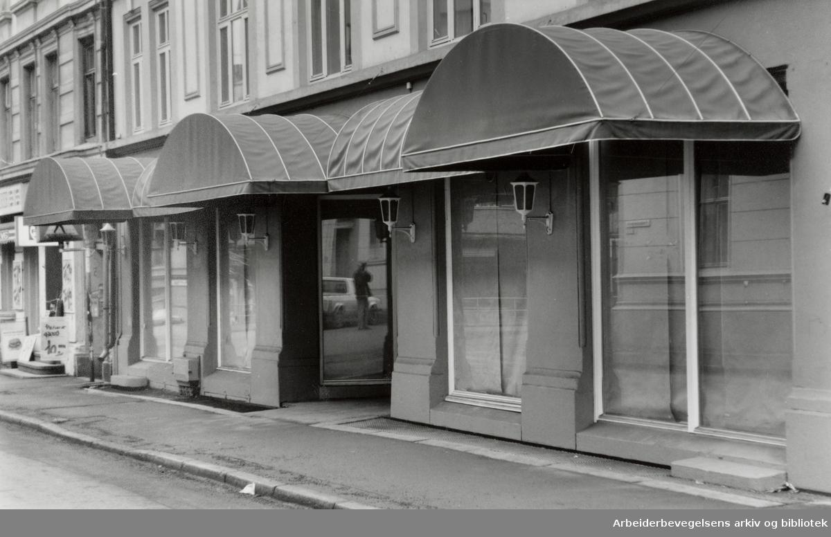 Fredensborgveien 13. Februar 1992