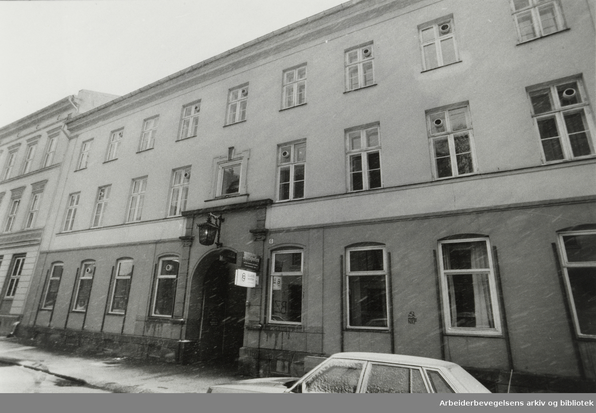 Fredensborgveien 6. April 1986