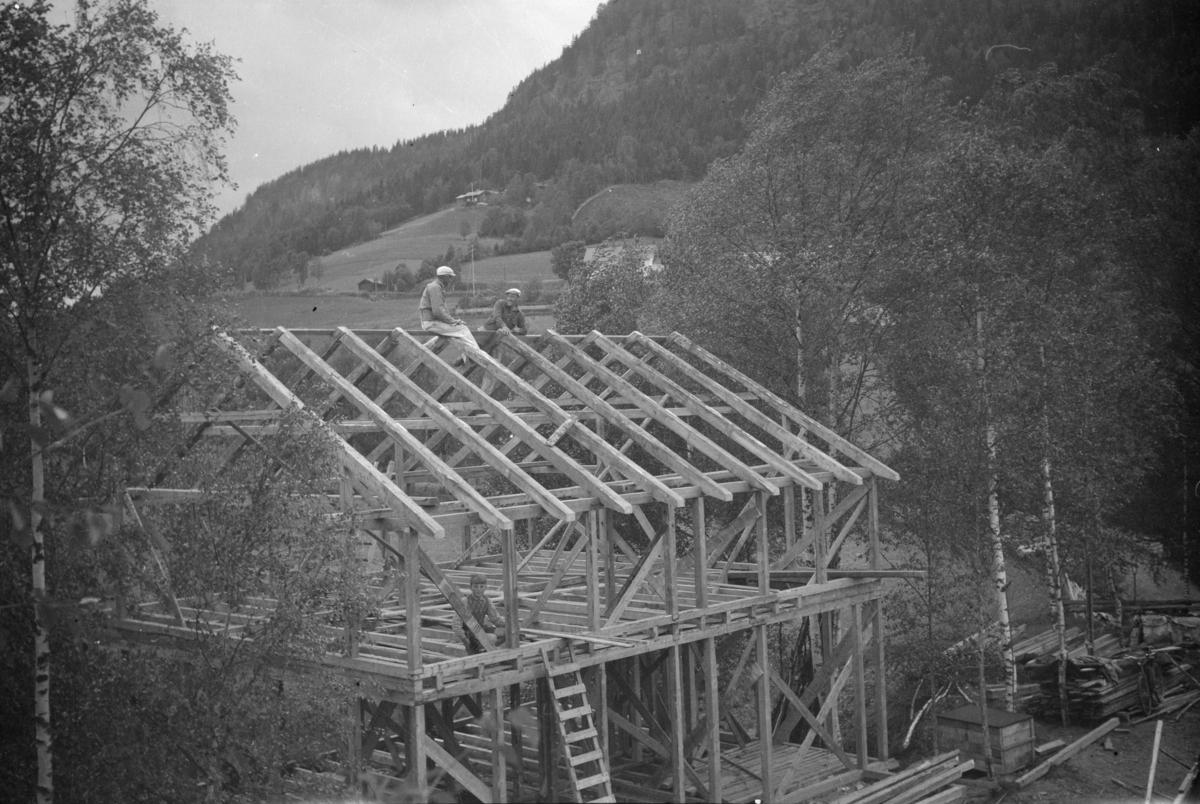 Bygging av bolighus i Vestringsvegen 208, Segalstad bru, fotografens eiendom
