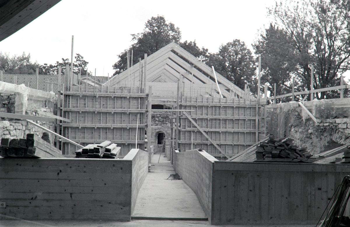 Storhamarlåven,Hedmarksmuseet, restaurering,  forskaling, B-fløy, HDH.03.