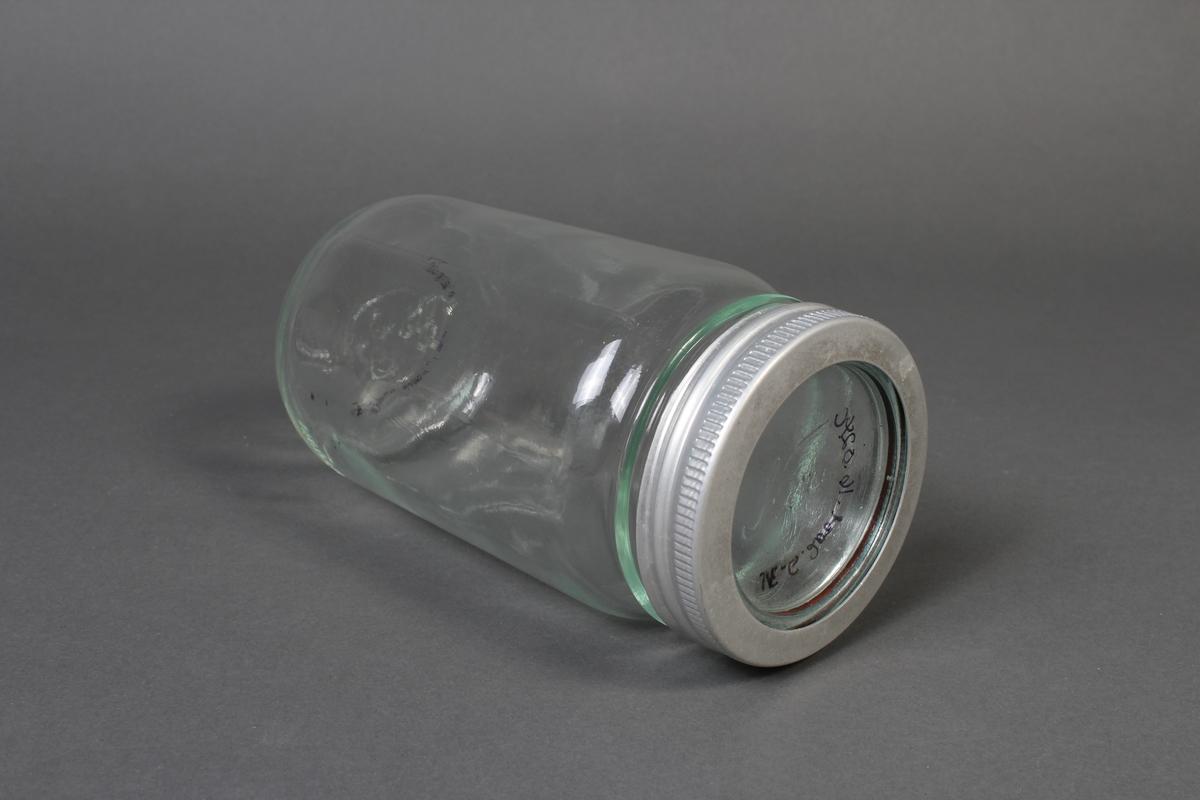 Norgesglass til oppbevaring og langtidslagring av mat.