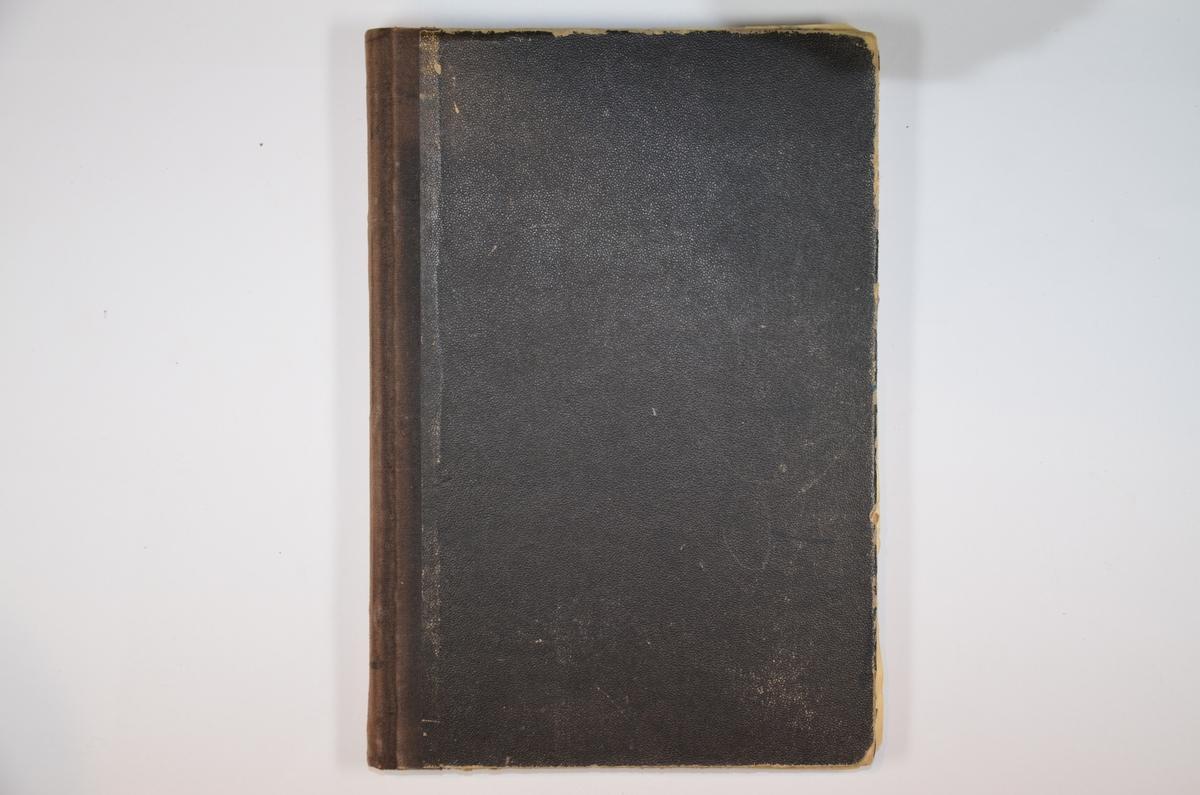 Lærebok i hebraisk (av M. Korinsky?). Side med publikasjonsinfo er revet ut, men året 1912 og stedet Warsawa kan skimtes på fliken som er igjen. Boken har tilhørt Salomon Rubinstein (f. 1907 i Oslo).