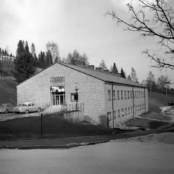 Pressvisning av baktereologiska laboratoriet vid Sundsvalls