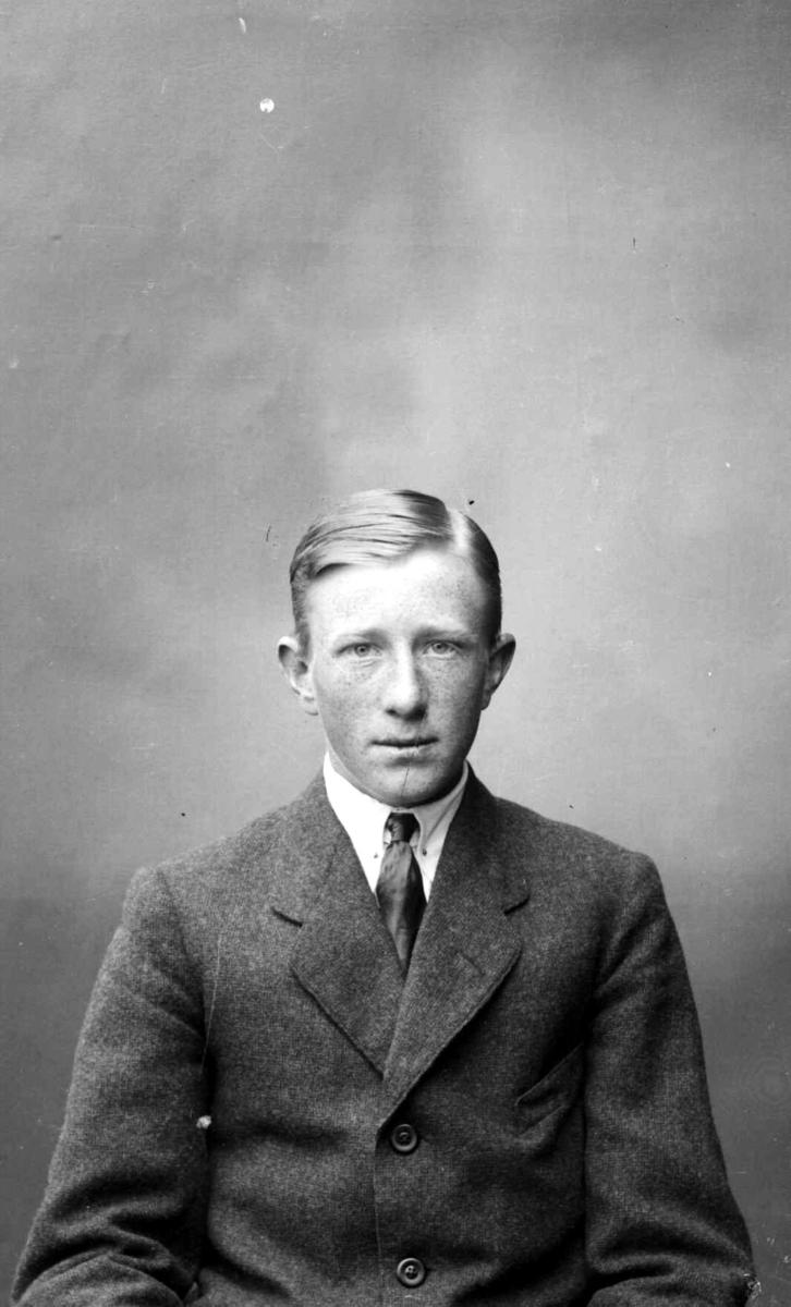 Portrett av Pål Johansen, fra Gaustum/Gustum