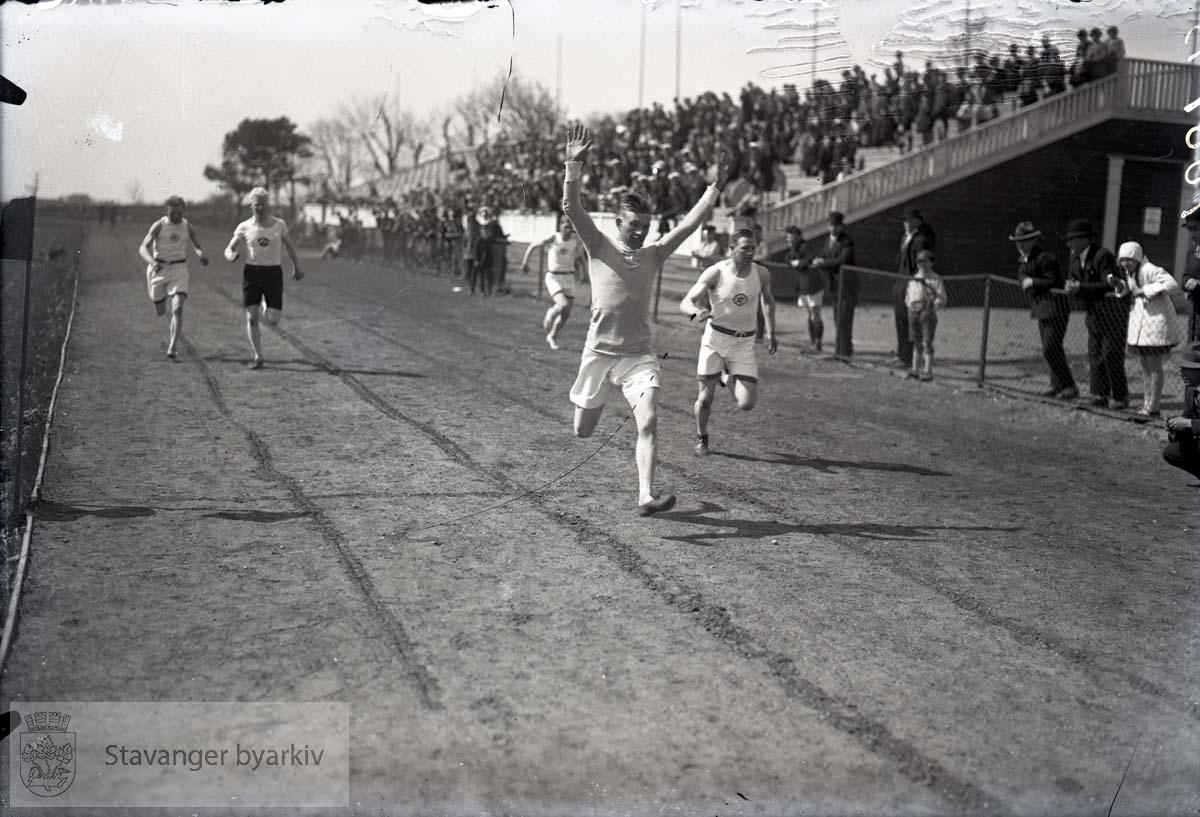 Løpere på Stavanger stadion