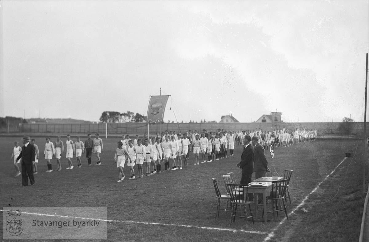 Turnstevne, Stavanger Stadion..Guttestevne nr 1-2