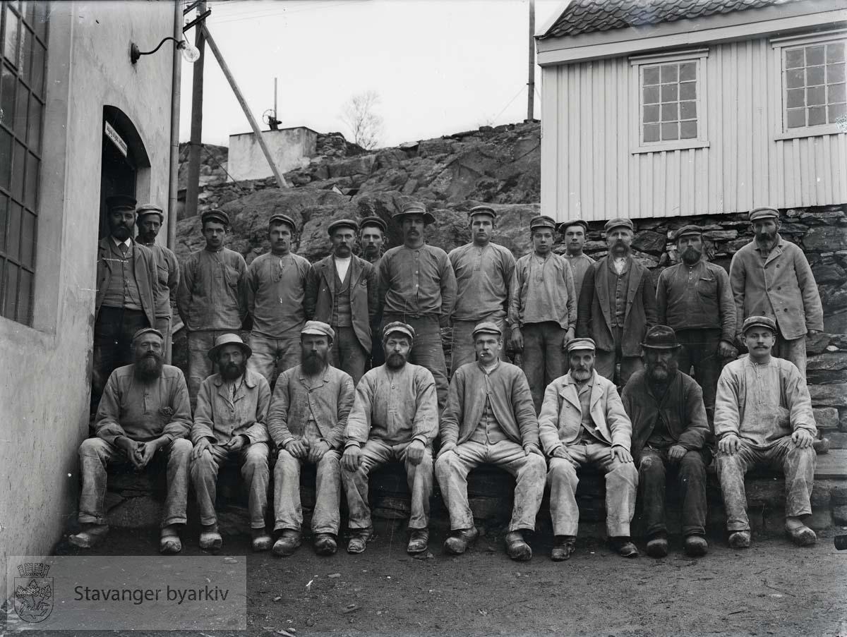 Gruppe arbeidere