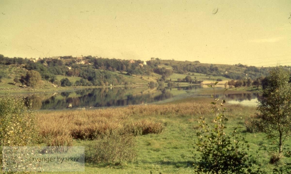 Området ved Litle Stokkavatn Før utbygging