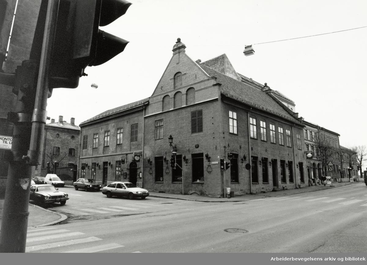 Oslo Gamle Rådhus. Desember 1991