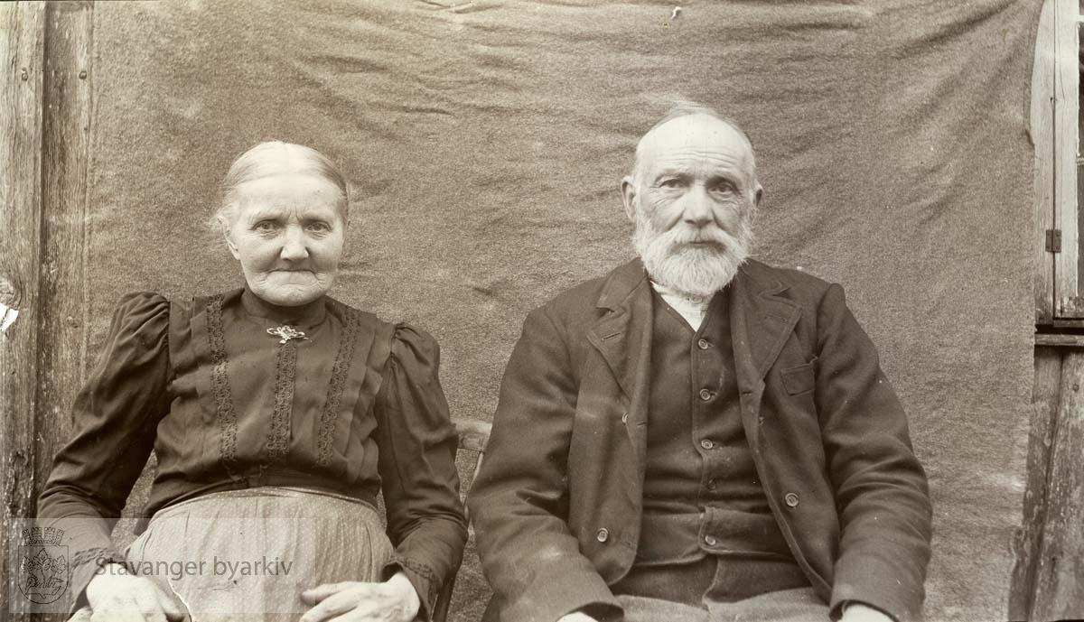 Tønnes Solberg og frue